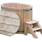 Badtunna i trä for 2 personer TimberIN