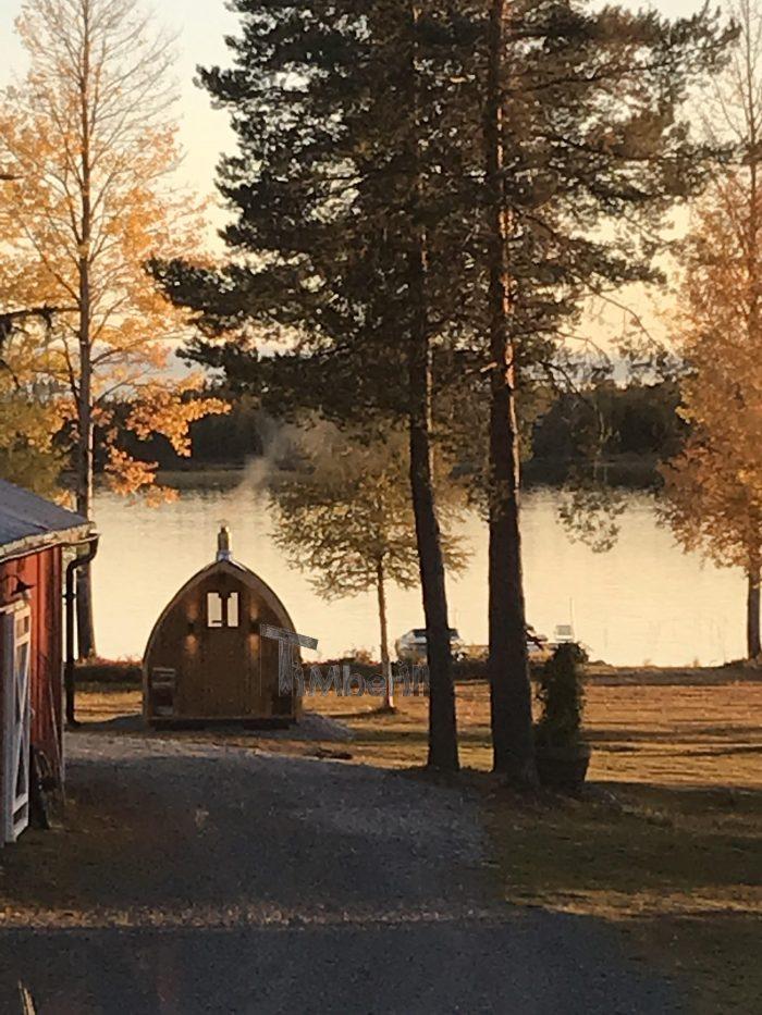 Utomhusbastu för trädgård Igloo, Kaisa, Malå, Sweden (1)